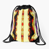 ' One last look in the mirror' Drawstring Bag by LIVING THE GOOD LIFE