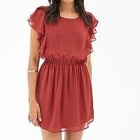 Fit & Flare Chiffon Dress