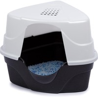 Nature's Miracle Advanced Corner Hooded Cat Litter Box | Petco Store