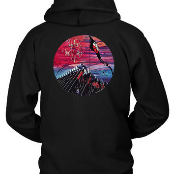 Pink Floyd The Wall Rounded Illustration Hammer Play Hoodie Two Sided