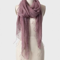 shy violet silk scarf at ShopRuche.com
