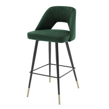 Velvet Counter Stool | Eichholtz Avorio