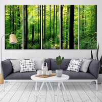 94105 - Forest Wall Art- Autumn Canvas Print- Forest Canvas- Forest Canvas Art- National Art Print- Canvas Print- Large Wall Art-