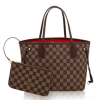 Louis Vuitton: Damier Neverfull PM Tote