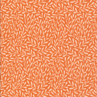 Dancing Viines Orange  - Organic Cotton - Morning Song Collection (5208.52.00.90)