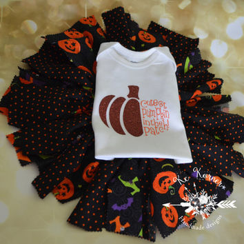 Pumpkin everything/Pumpkin tutu/Fall tutu/Fabric tutu/Smash cake/Scrappy tutu/Custom tutu/halloween tutu/Holiday tutu/Photo prop/Baby outfit