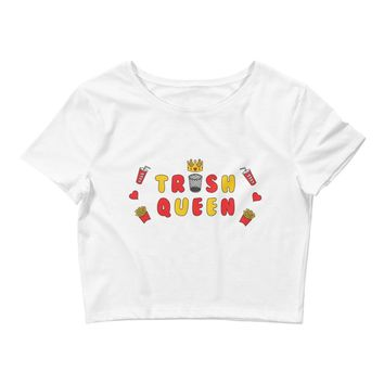 Trash Queen Crop Top