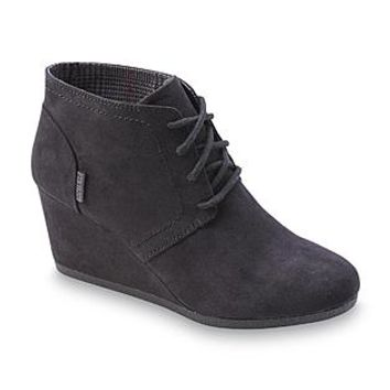 Route 66 Women's Emerson Black Wedge Bootie
