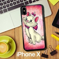 Marie Aristocats V0205 iPhone X Case