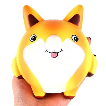 Squishy Cartoon Cute Fox Scented Cream Slow Rising Squeeze Decompression Toys