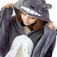 Umart Anime Cosplay Totoro Ghibli Costume Cloak Shawl Cape