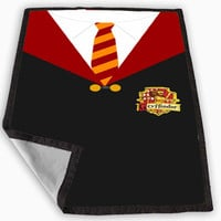 Harry Potter Gryffindor Robe Blanket for Kids Blanket, Fleece Blanket Cute and Awesome Blanket for your bedding, Blanket fleece **