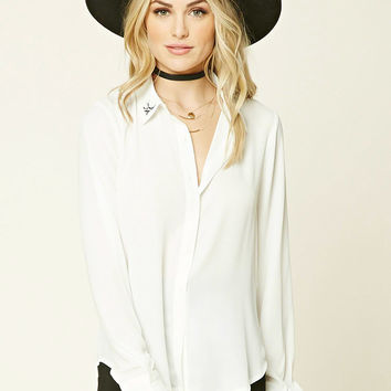 Contemporary Collared Shirt