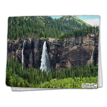 "Nature Beauty - Cliffs 11""x18"" Dish Fingertip Towel All Over Print by TooLoud"