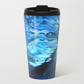 Organic.2 Metal Travel Mug by DuckyB