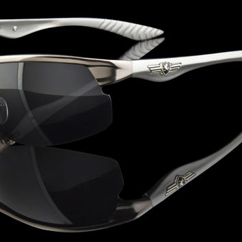 "Mens Wraparound Luxury Design Sunglasses ""VIP"""