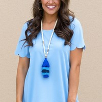 Believe Me Top in Blue | Monday Dress