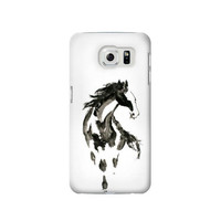 P1031 Horse Paintbrush Phone Case For Samsung Galaxy S6 edge