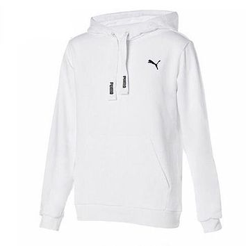 PUMA Fashion Hooded Embroidery Top Sweater Hoodie