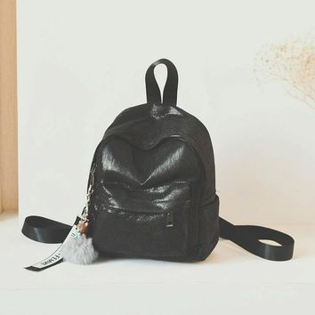 Student Backpack Children JIANXIU Students Backpack New Fashion PU Leather Soft Girl Backpack Waterproof Korean Style School Young Students Bag AT_49_3