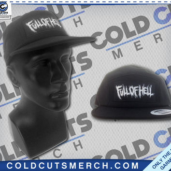 "Cold Cuts Merch - Full of Hell ""Patch"" Five Panel Hat"