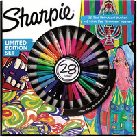 Walmart: Sharpie Fine/Ultra Fine Assorted Marker Set, 28-Count