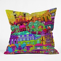 Aimee St Hill I Heart Paris Throw Pillow