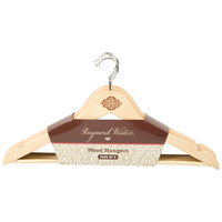 Raymond Waites Decorative Painted Wooden Clothes Hangers (Set of 5)