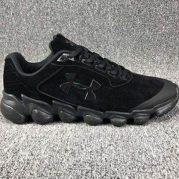 Under Armour CLUTCHFIT DRIVE Casual basketball shoes, leather shoes, hard rubber soles, fashion shoes L-CSXY Black&Grey icon