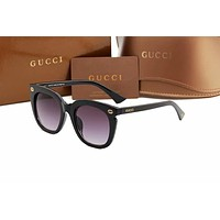GUCCI Fashion Women Summer Style Sun Shades Eyeglasses Glasses Sunglasses Black I-AJIN-BCYJSH