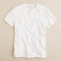 Slim broken-in short-sleeve henley - broken-in jersey tees - Men's tees, polos & fleece - J.Crew
