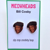 Bill Cosby Stud Earrings