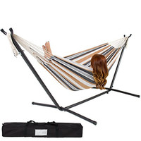 Best Choice Products Double Hammock With Steel Stand