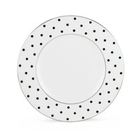 Kate Spade LARABEE ROAD BLACK ACCENT PLATE