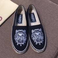 Kenzo Women Fashion Casual Flats Shoes-9