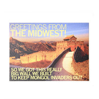 Midwest Great Wall Postcard