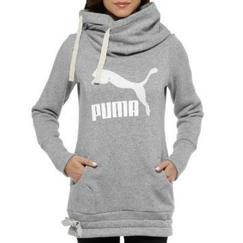 PUM Long Logo Hoodie | Women - from the official Puma® Online Store