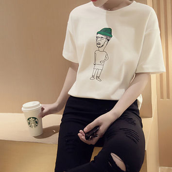 Summer Womens Casual T-Shirts Gift 31