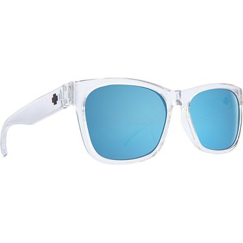 Spy - Sundowner Crystal Sunglasses / Gray Dark Blue Spectra Lenses