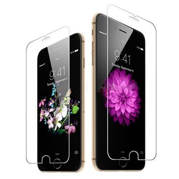 Clear Tempered Glass Screen Protector for iPhone 6/6s/6+/6s+/ 7/ 7+
