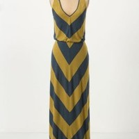 Ribbed Chevron Maxi Dress - Anthropologie.com