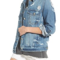 BP. Ripped Denim Jacket | Nordstrom
