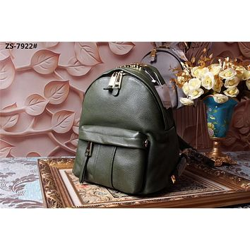MOSCHINO NEW HOT STYLE LEATHER CAPSULE BACKPACK BAG