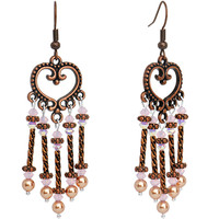 Handcrafted Vintage Eternal Romance Chandelier Earrings MADE WITH SWAROVSKI ELEMENTS | Body Candy Body Jewelry