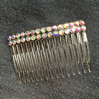 Crystal Rhinestone Hair Comb Accessory