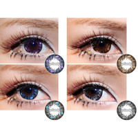NEO Ruby Queen colored contacts circle lenses big eye cosmetic contact lens | EyeCandy's
