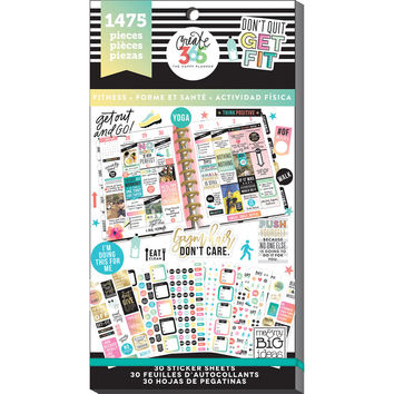 Create 365™ The Happy Planner™ Fitness Value Pack Stickers