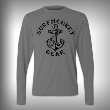 Anchor - Performance Shirt - Fishing Shirt - Decal Shirts