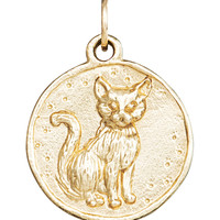 Cat Coin Charm