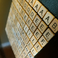 FULL SET of Scrabble® MAGNETS (100) - Great Gift for Housewarming, Back to School, Dorms, Teachers, Writers, Game Lovers, or Any Occasion